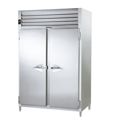"Refrigerator, Reach-In 2 Door 35"" D 58"" W - AHT232WUT-FHS by Traulsen."