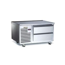 "Refrigerator, Chef Base 48"" - 1 Section, TE048HT by Traulsen."