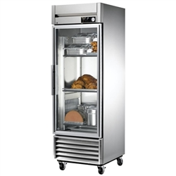 Heated Cabinet, Reach-In Glass Door - 1 Section, TH-23G by True.