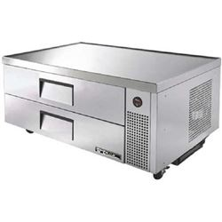 "Refrigerator, Chef Base 52"", 1 Section. TRCB-52 by True."