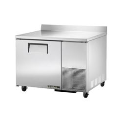 "Freezer, Work Top 44"" Solid Door - 1 Section, TWT-44F by True."