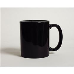 Mug, Coffee 12oz, Black, BBM-1202 by Tuxton.