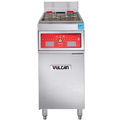 Fryer, Computer Control Floor Model 50lb - 208V/60/3 - 1ER50C by Vulcan.