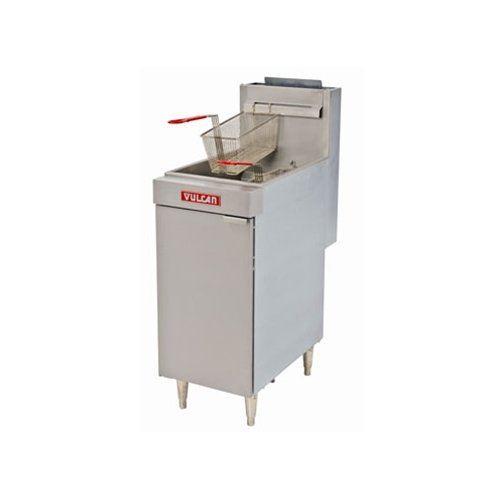 Vulcan Fryer Floor Model 35 40 Lb Nat Gas Lg300 1