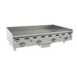 "Griddle, 48"" Wide, 1"" Thick, Thermostatic Controls - Nat. Gas, MSA48-1 by Vulcan."
