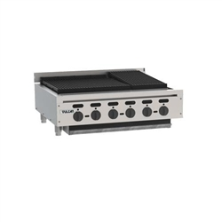 "Charbroiler, 36 1/8"" Wide Countertop Radiant Style - Nat. Gas, VACB36-N by Vulcan."