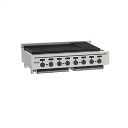 "Charbroiler, 46 3/4"" Wide Countertop Radiant Style - Nat. Gas, VACB47-N by Vulcan."