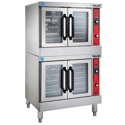 Oven, Convection - Double Full Size Standard Depth - Nat. Gas, VC44GD-10 by Vulcan.