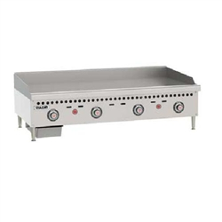 "Griddle, 48"" Wide, 1"" Thick, Thermostatic Controls - Nat. Gas, VCRG48-T1 by Vulcan."