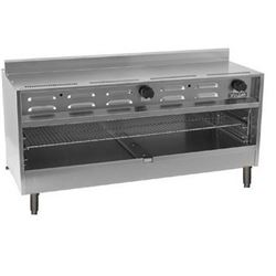 "Cheesemelter, 48"" Countertop - L.P. Gas, VICM48C-2 by Vulcan."