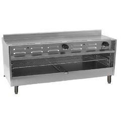 "Cheesemelter, 60"" Countertop - L.P. Gas, VICM60C-2 by Vulcan."