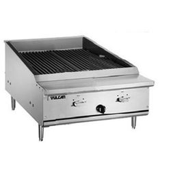 "Charbroiler, 25 1/2"" Wide Countertop Infrared Style - Nat. Gas, VTEC25-N by Vulcan."