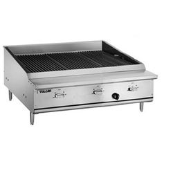 "Charbroiler, 36 1/2"" Wide Countertop Infrared Style - Nat. Gas, VTEC36-N by Vulcan."