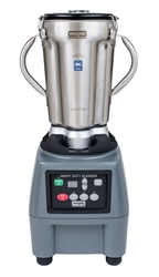 Food Blender, Heavy Duty, 1 gal With Membrane Controls and Timer, CB15T by Waring.
