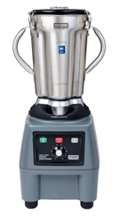 Food Blender, Heavy Duty, 1 gal With Membrane Controls and Variable Speed, CB15V by Waring.