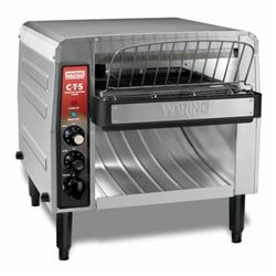 Toaster, Conveyor 208V, CTS1000B by Waring.