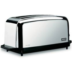 Commercial Toaster, 4-Slice Capacity, WCT704 by Waring.