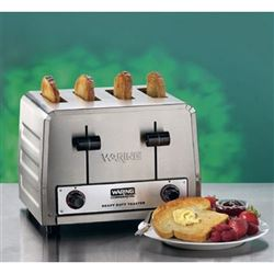Toaster, Commercial Standard 4-Slice - 240V, WCT805 by Waring.