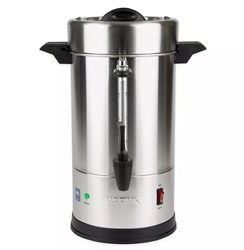 Coffee Urn, 30 Cup Percolator, Stainless Steel - WCU30 by Waring