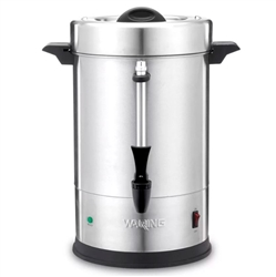 Coffee Urn, 55 Cup Percolator, Stainless Steel - WCU55 by Waring