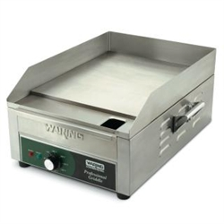 "Griddle, 14"" Countertop - 120V. WGR140X by Waring."