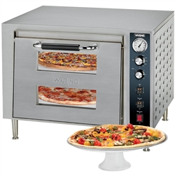 Oven, Pizza Countertop Double Deck - 240V . WPO700 by Waring.