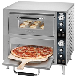 Oven, Pizza Countertop Double Deck - 240V . WPO750 by Waring.
