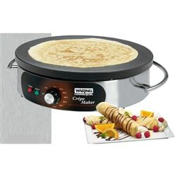 Crepe Maker, Single - Electric. WSC160X by Waring.