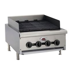 "Charbroiler, 24"" Wide Countertop Radiant Style - Gas, HDCB-2430G by Wells."