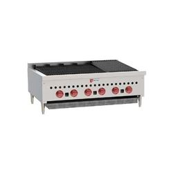 "Charbroiler, Countertop Radiant Style 36"" - L.P. Gas, SCB36-2 by Wolf."