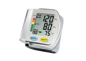 Wrist worn Automatic Blood Pressure Monitor