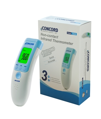 Concord Non-Contact Infrared Thermometer Suitable for Baby, Infants, Toddlers, and Adults.
