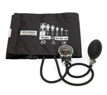 "Aneroid Sphygmomanometer w Cuff McKesson LUMEONâ""¢ 2-Tube Pocket Style Hand Held Adult Size"