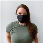 100% Cotton 3-Pleat Expansion Reusable & Washable Face Mask