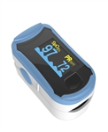 Fingertip Pulse Oximeter - Blue