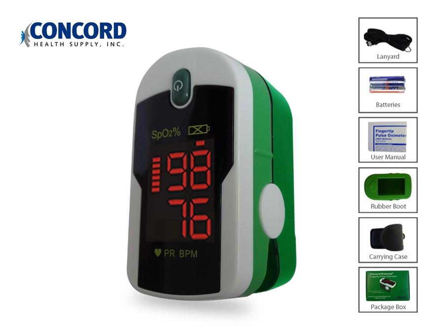 Concord Emerald Finger Pulse Oximeter