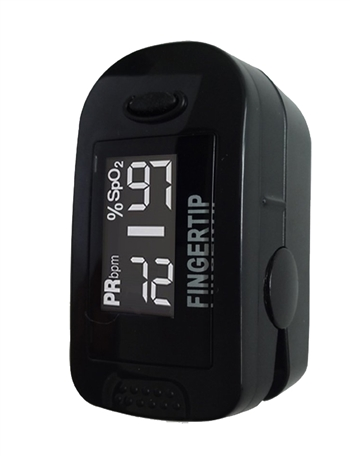 Concord BlackOx Oximeter with White Digital Display & Accessories