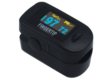 Concord BlackOx DELUXE Oximeter with Blue 6-Way Digital Display & Accessories