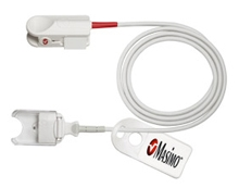 Masimo Sensor for Spot checking hemoglobin (SpHb®), arterial oxygen saturation (SpO2), pulse rate (PR), and perfusion index (PI)