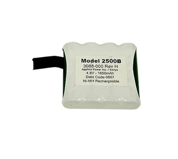 Battery Pack, NiMH - For Use With 2500 C - UNIV
