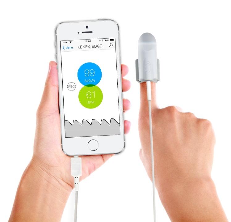 iPhone Fingertip Pulse Oximeters | Best Oxygen Meters Online
