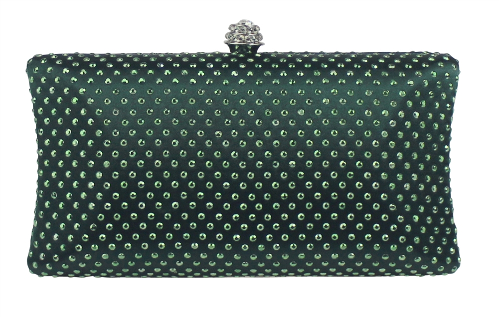 Emerald Green Handbags & Unique Emerald Green Clutch Evening Purses