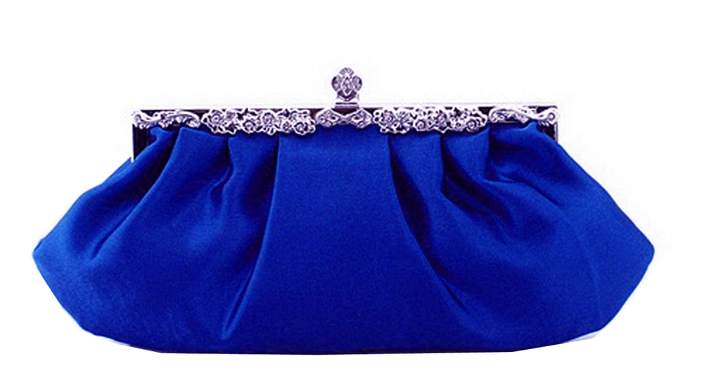 Blue Wedding Evening Clutch Purse