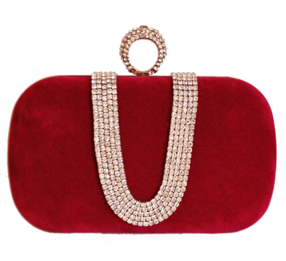 One Ring Duster Knuckle Evening Clutch Bag