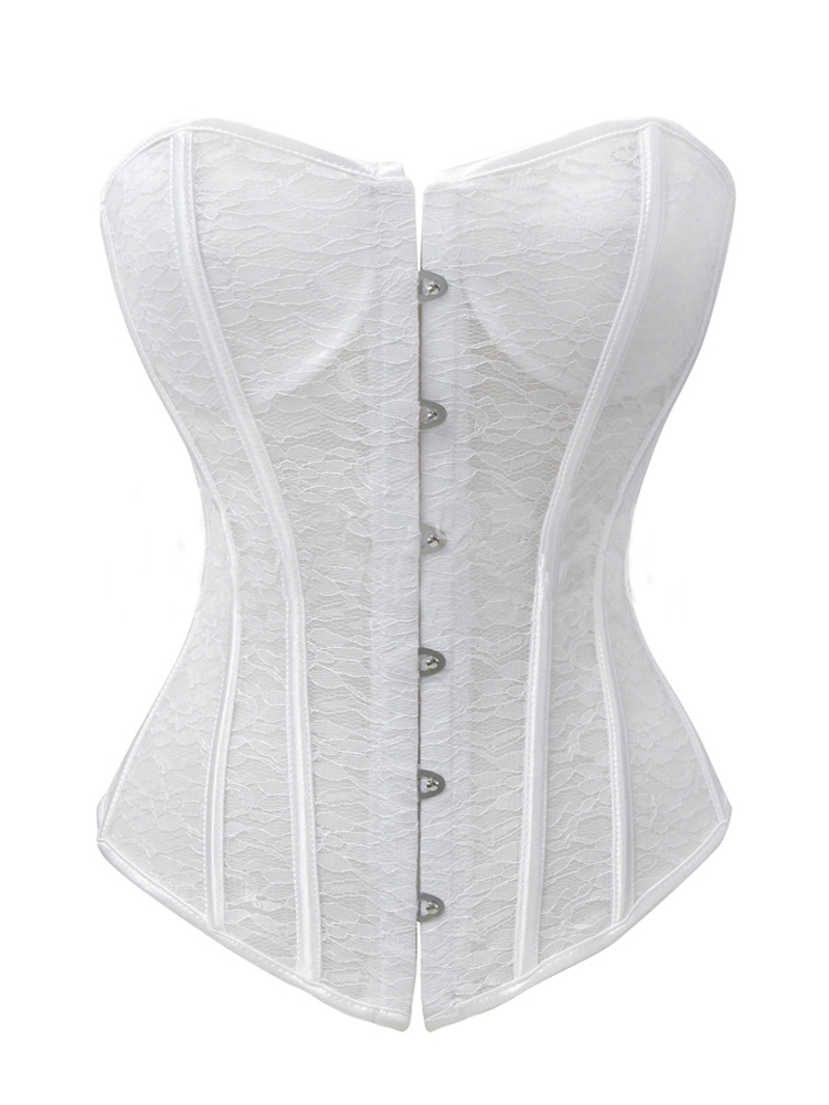 c49b61c0ce6 Sexy White Bridal Corsets   Bustiers For Those Special Occasions!