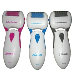 Chicastic Callus Remover - Battery Operated Foot File - Best Selling Pedi Care Tool - At home pedicure results for dry, coarse skin
