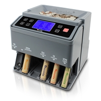 Cassida C300 - Automatic Coin Counter, Sorter and Wrapper