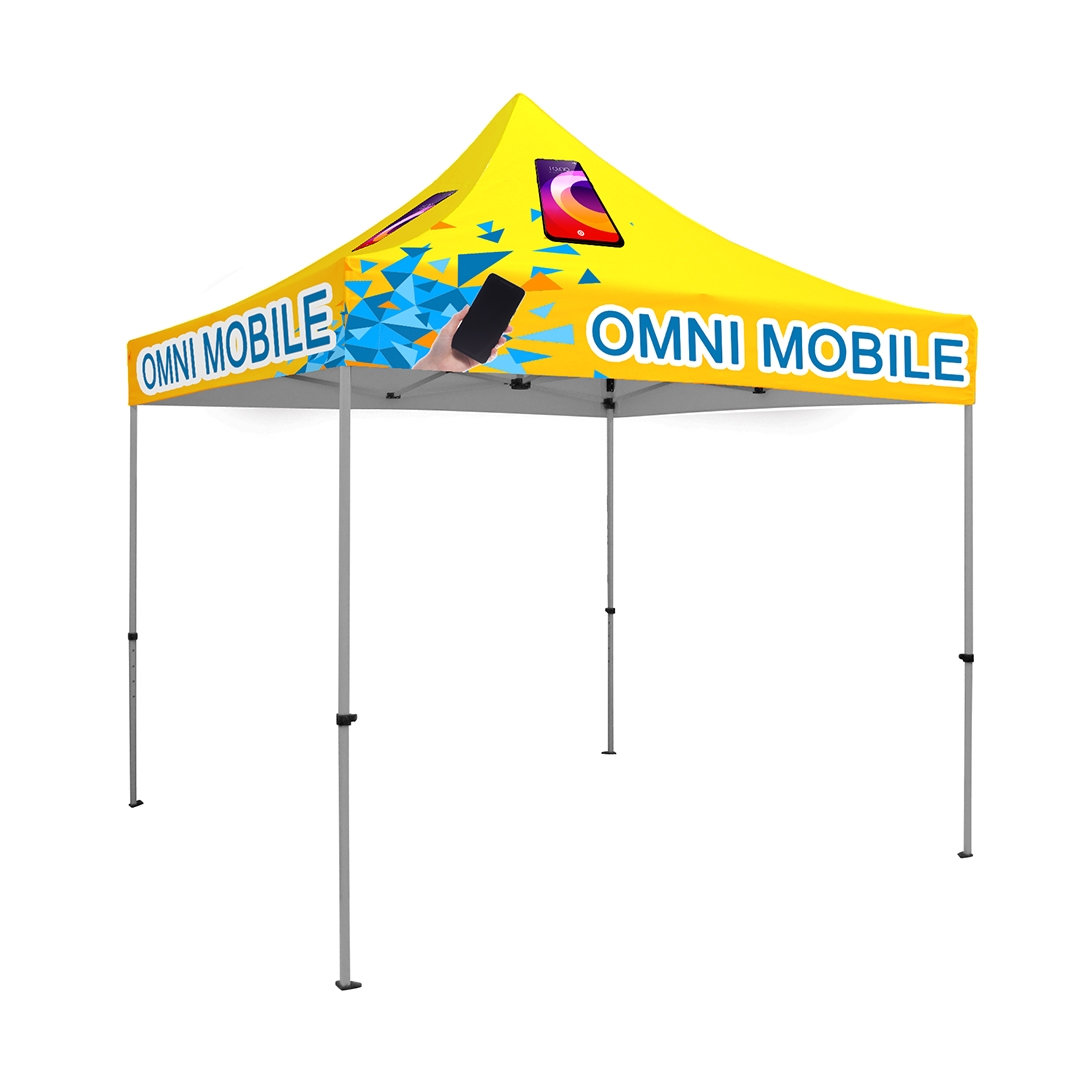 10 x 10 ft. Tent Full-Color Canopy with 40mm Aluminum Frame