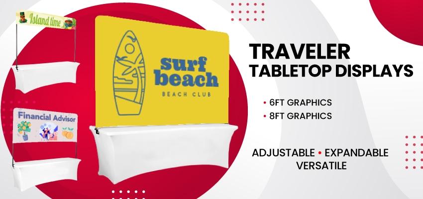 traveler tabletop displays