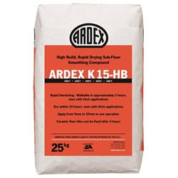 Ardex K15 HB Rapid Drying Smoothing Compound